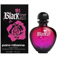 black xs paco rabanne feminino
