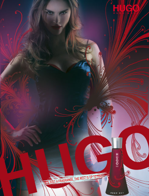 hugo bosss hugo deep red