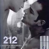 Outro folder do perfume 212 Men