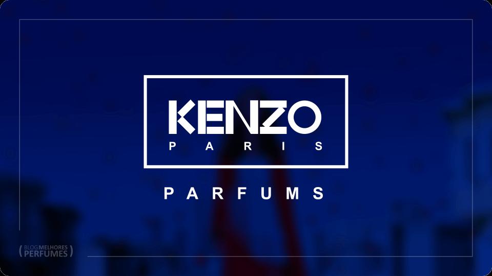 Os melhores perfumes Kenzo.