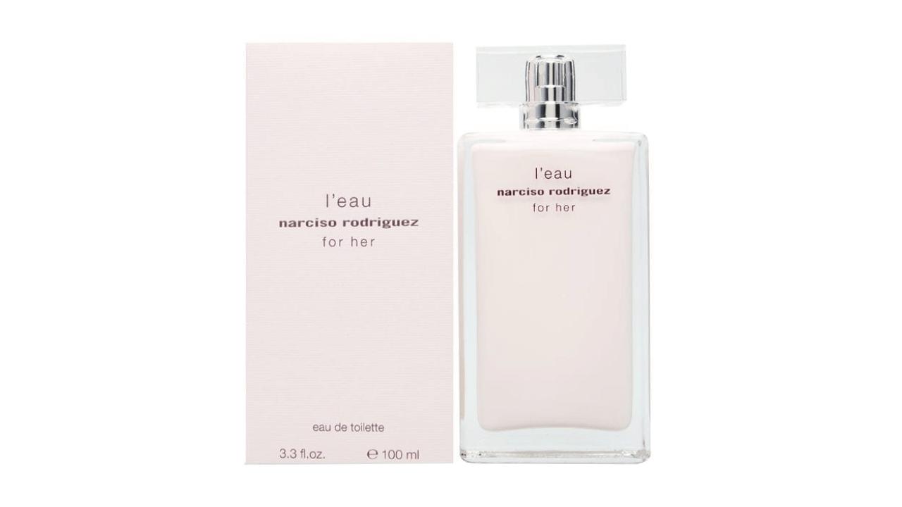 Conheça o perfume feminino L'eau For Her, da marca Narciso Rodriguez