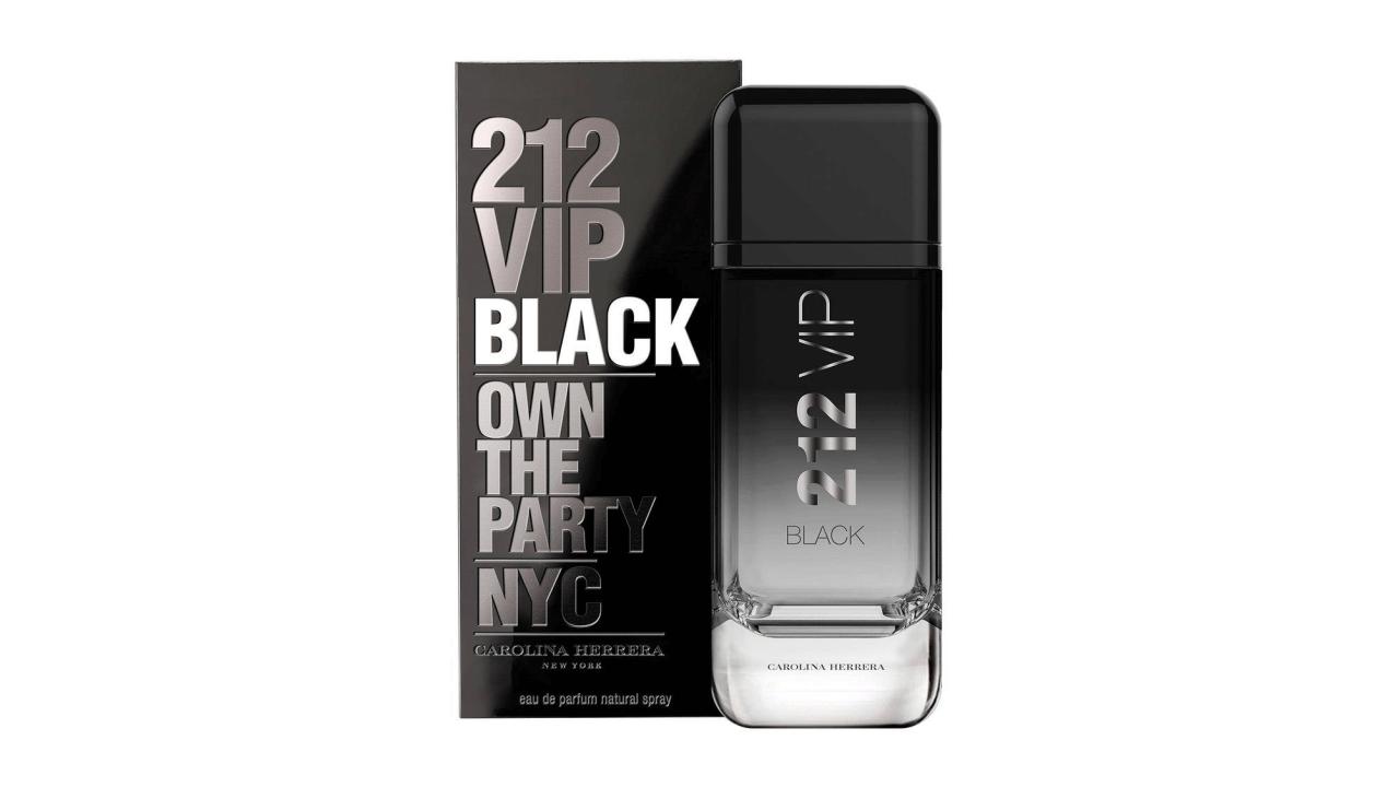 Confira a resenha do perfume 212 Vip Black, da marca Carolina Herrera.